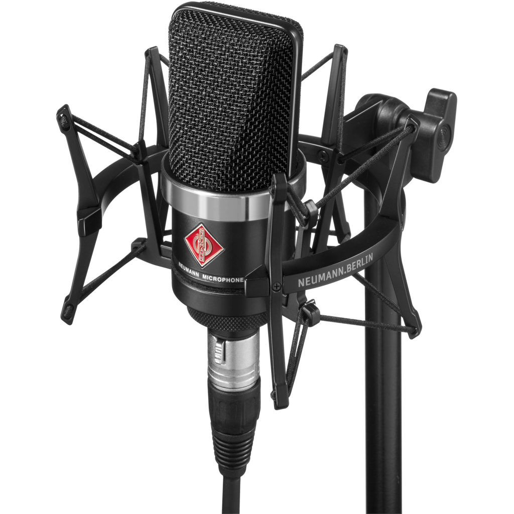 Neumann TLM 102 Black Microphone for Voice Over